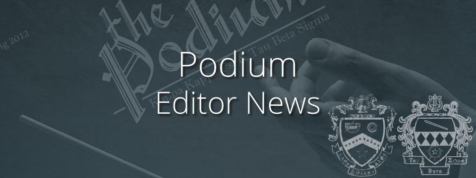 podium news header