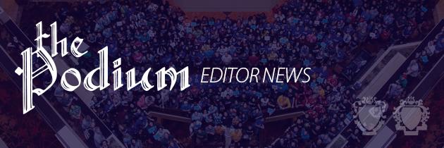 Podium Editor News